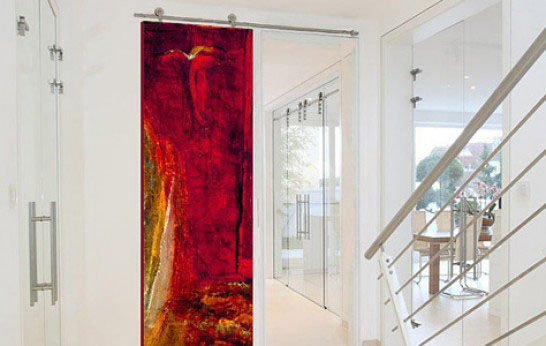 Step Into Another World: Sargam Griffin Contemporary ArtDoors
