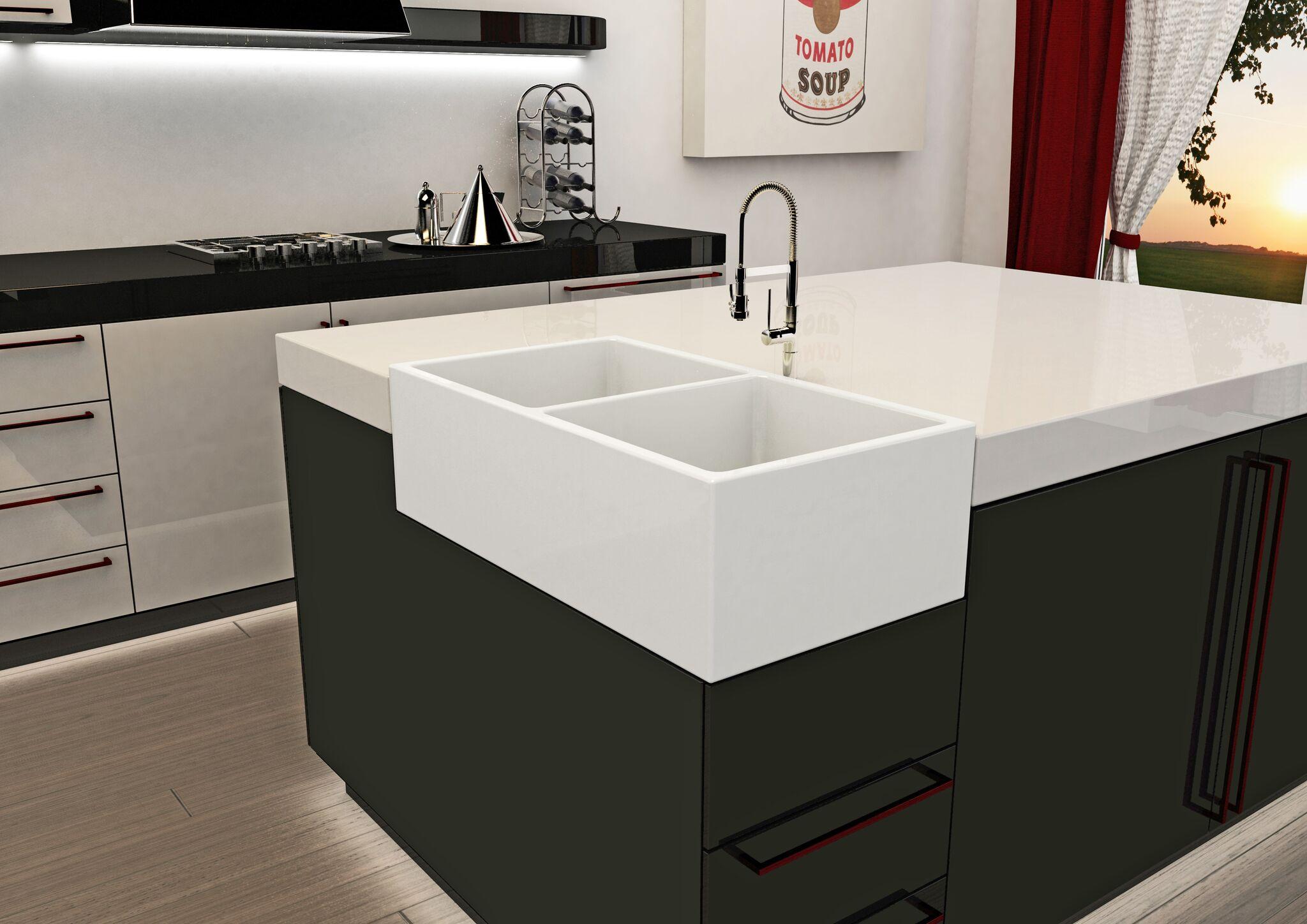 3rings | Cool Corner Kitchen Sink from Ruvati — 3rings